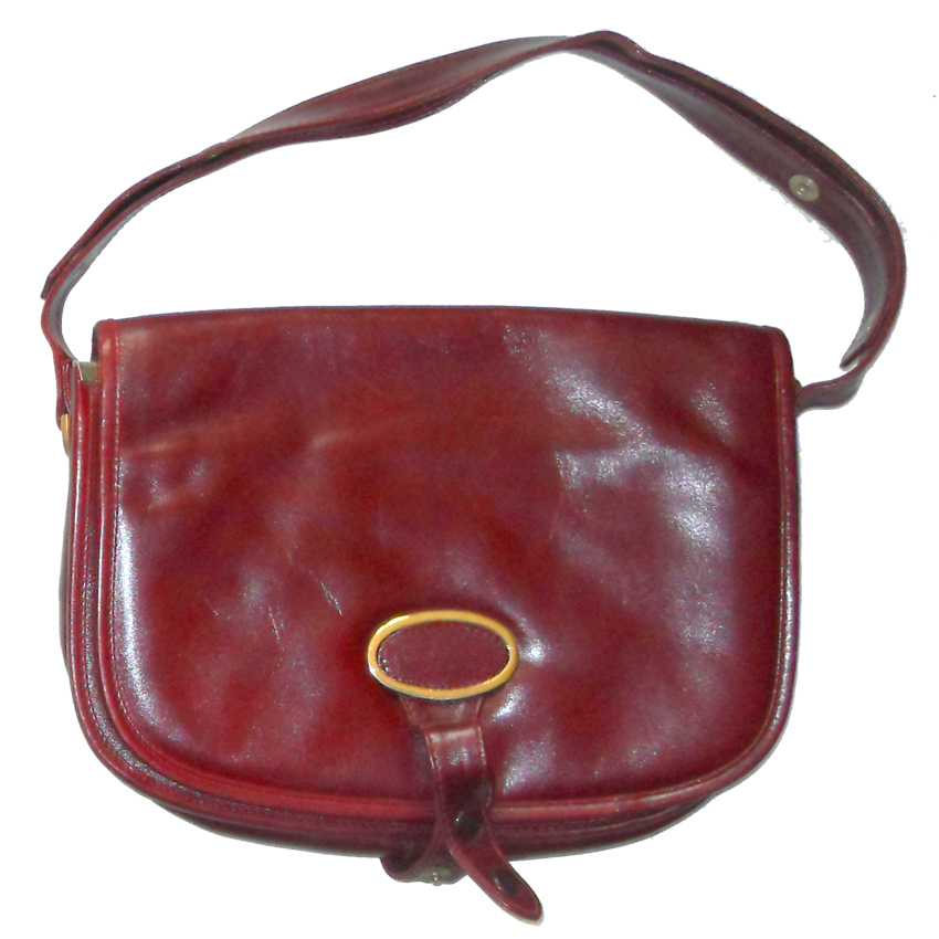 Harrods Italian leather hand bag shoulder bag