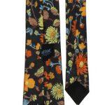 Hatton of England floral design vintage tie
