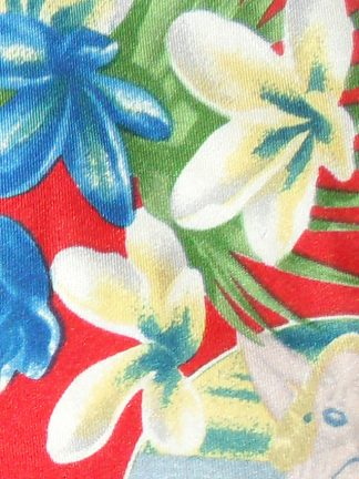 Dolce & Gabbana retro tropical print silk tie