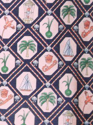 Bermuda silk tie