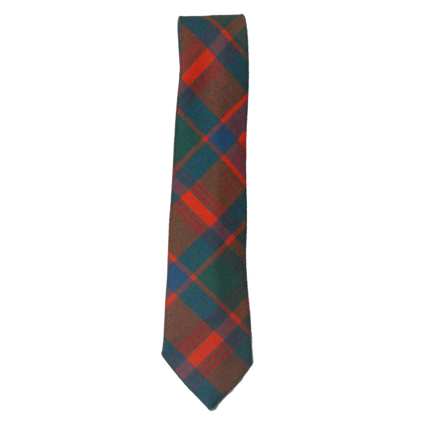 Edgar of Scotland tartan wool tie