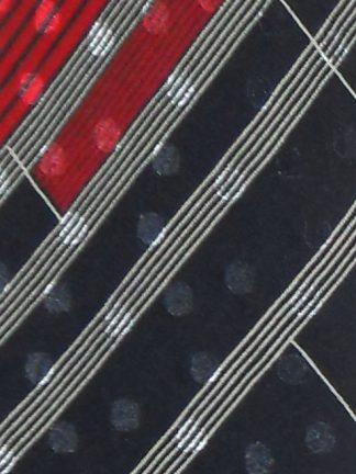 Christian Dior textured silk tie