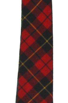 Macties of Scotland Tartan Wool Tie
