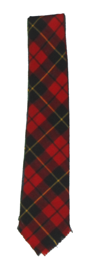 Macties of Scotland Tartan Wool Tie