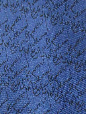 Beckford English made silk tie