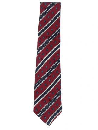 Harrods classic design silk tie