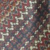 Austin Reed vintage silk tie with a design in red blue and grey