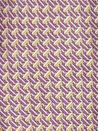 Hermes silk tie design 5080 PA graphic print
