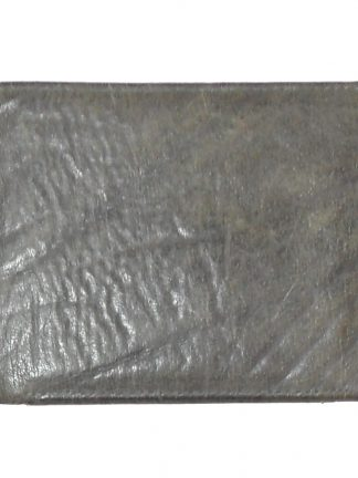 Kalahari Classics buffalo leather grey bifold wallet made in RSA