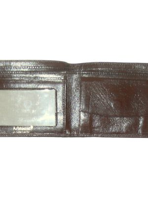 Aristocrat vintage brown leather bifold leather wallet