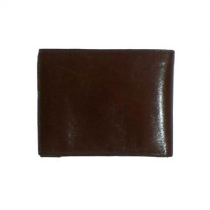 Aristocrat vintage brown leather bifold leather wallet