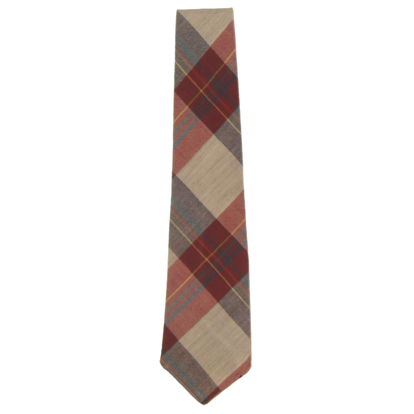 Wembley Huntleight Heathers fine merino wool tie loomed in Scotland