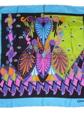 Dazzling Caruso silk scarf