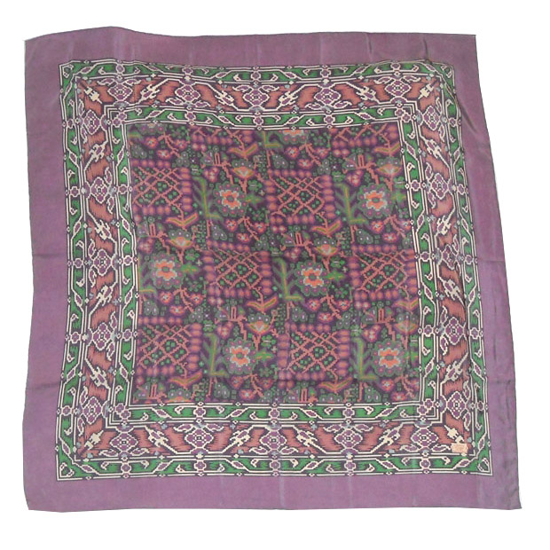 Liberty of London Ikat Design Silk Scarf