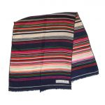 Long multi stripe silk scarf by Christian Dior Paris