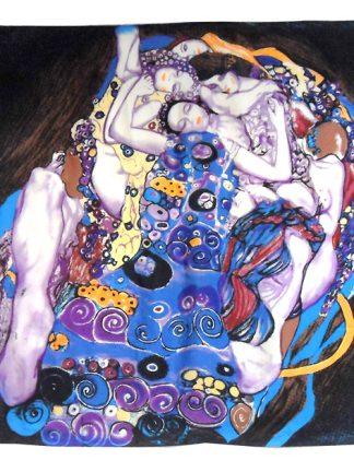 Klimt The Maidens silk scarf