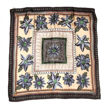 Esprit silk scarf with embroidered detail