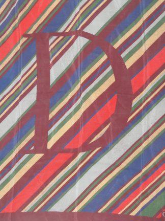 Vintage Christian Dior silk scarf
