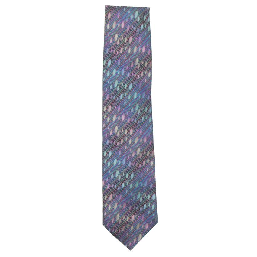 Missoni silk tie in a multi colour design