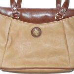 Retro Pierre Balmain light brown leather bag