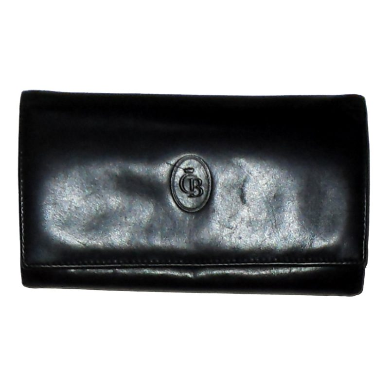 Castelijn & Beerens black leather purse