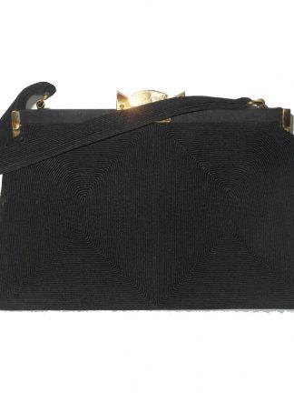 Vintage black Cordé handbag
