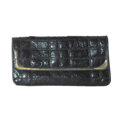 Pistore Italy black leather handbag