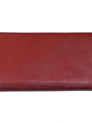 Ted Lapidus red leather purse