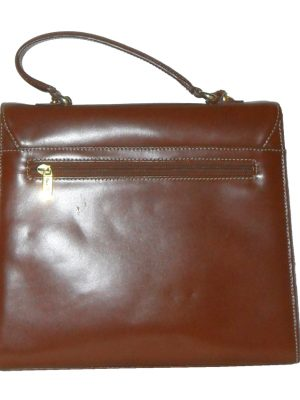 Jane Shilton Brown Leather Handbag