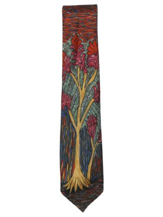 Tree design by Jimmy Pike Michelsons for Harrods silk tie