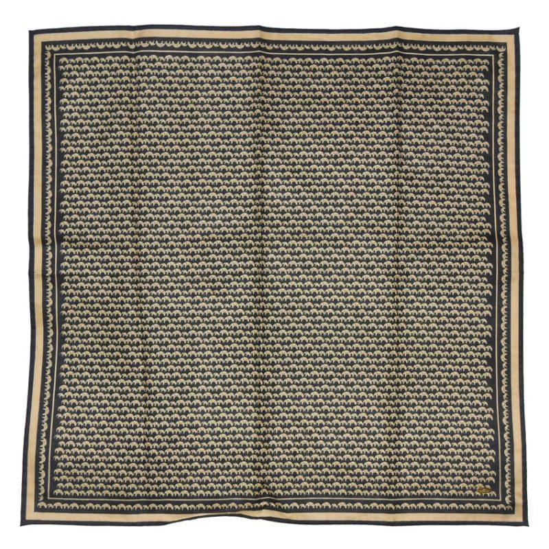 Elephant print cotton pocket square