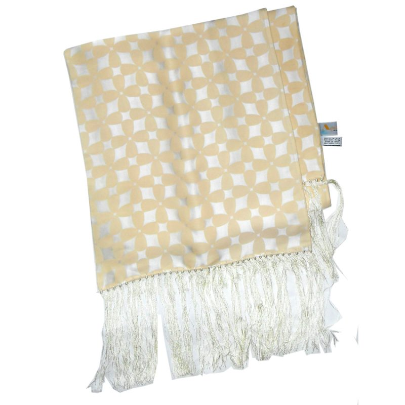 Aquascutum long silk evening scarf