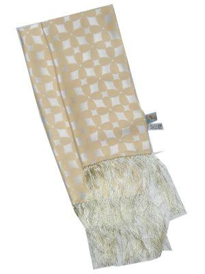 Aquascutum long silk evening scarf