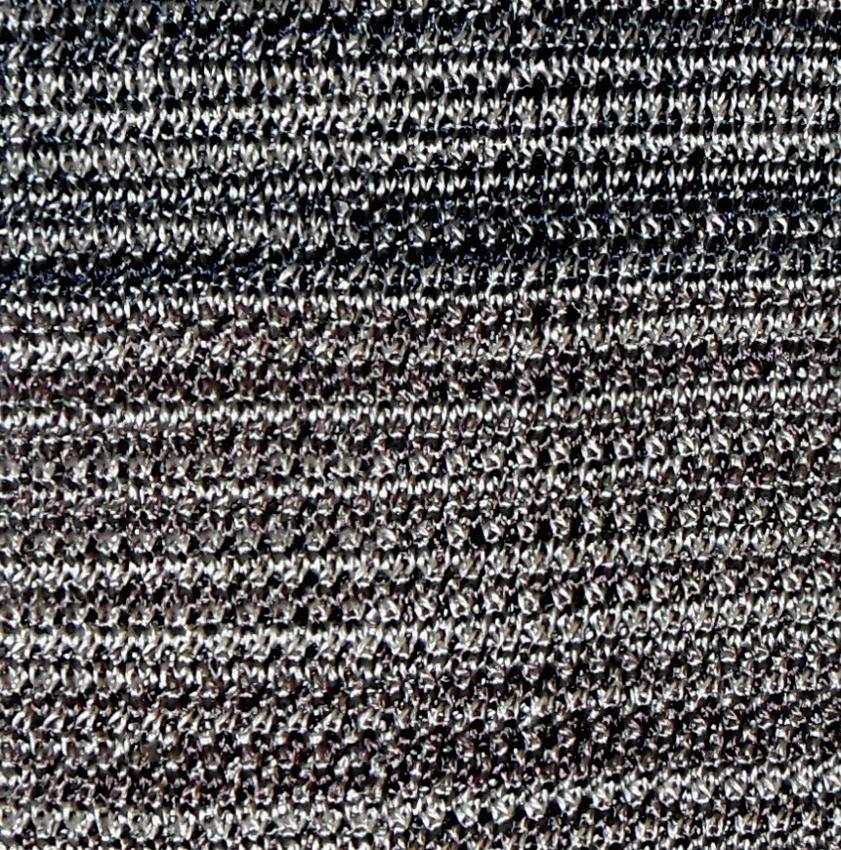 Silk knit tie in shades of brown
