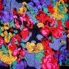Richard Allan bright design silk scarf
