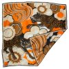 Vintage Burmel scarf with a design of two leopards