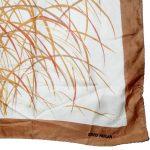 Abstract design silk scarf