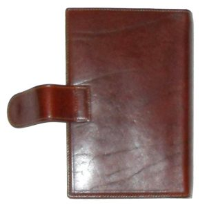 Casani, Italy, brown leather personal organiser