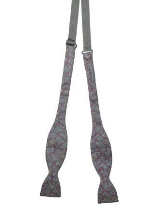 Paisley bow tie