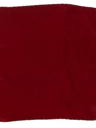 Maroon or burgundy silk pocket square
