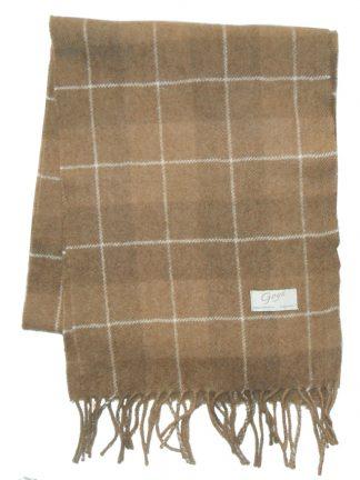 Goyo Mongolian camel wool scarf