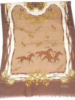 Caruso Italy wool and silk mix shawl