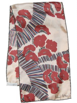 Richard Allan Abstract Design Long Scarf