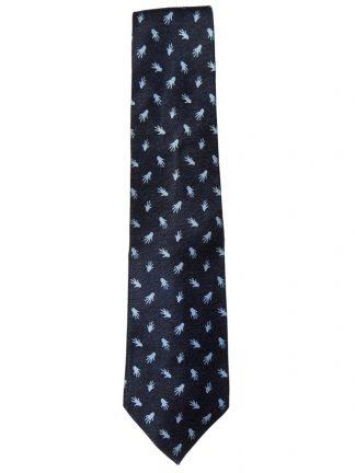 Bulgari Davide Pizzigoni hand design silk tie