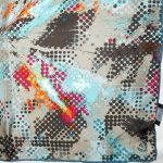 Fraas multi colour silk square