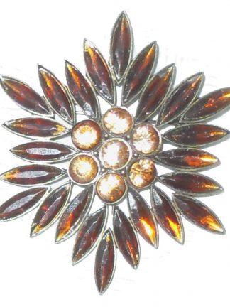 Sunburst brooch