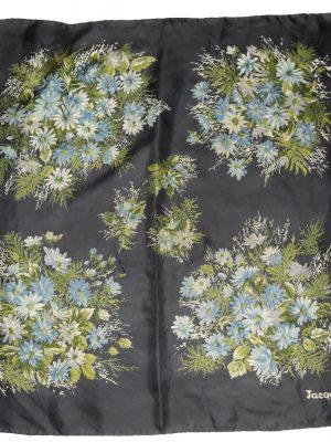 Jacqmar flower design silk scarf