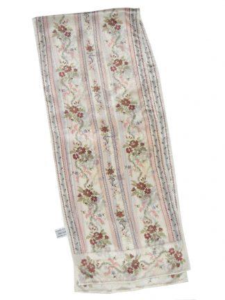 Jacqueline Ferrar flower design long silk scarf