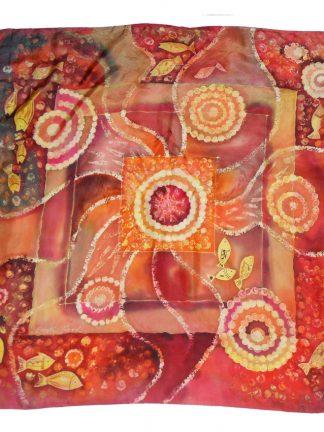 Dorothy Hood signed silk scarf