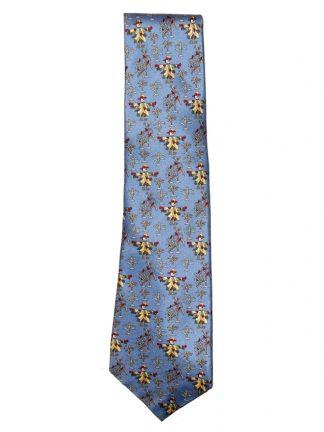 Roderick Charles scarecrow design silk tie